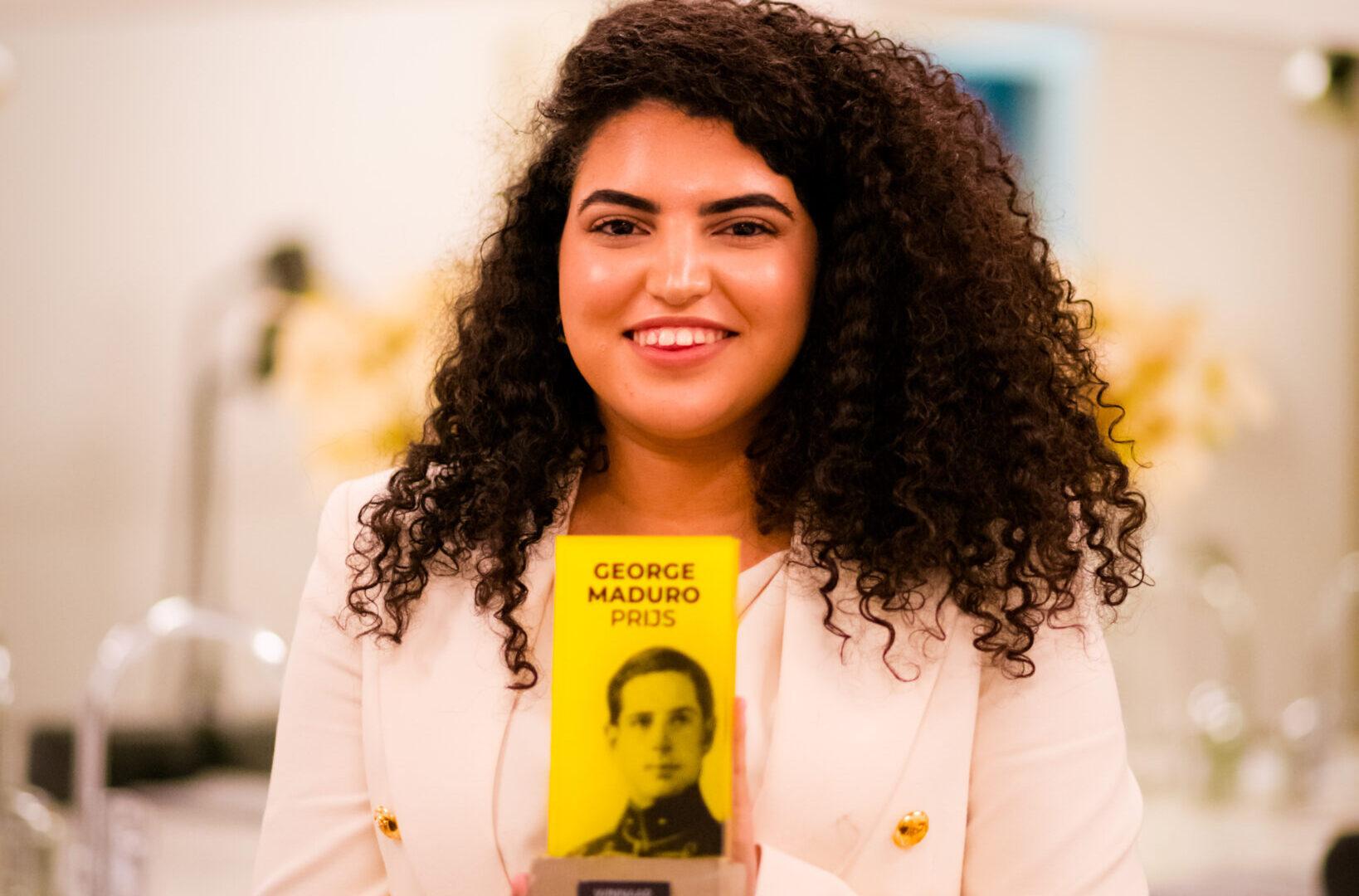Young Impact Awards: Aya Laghzaoui (19) wint George Maduro Prijs 2020