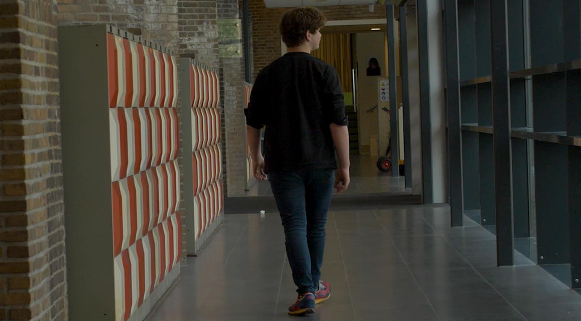 Joep (17) gaat een klimaatmuur bij zijn school laten bouwen