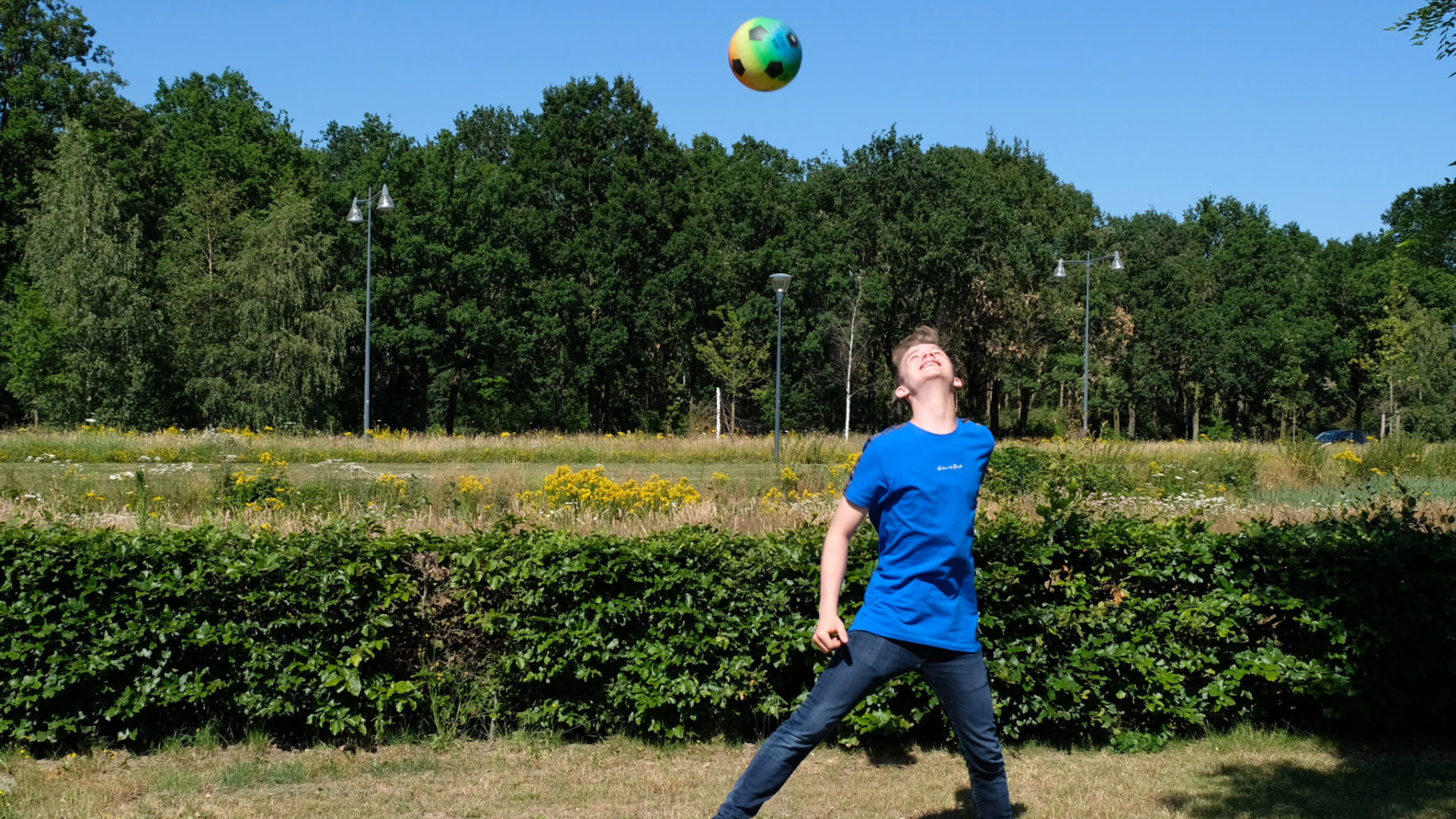 Noah richt een voetbalteam op voor jongeren die niet thuis kunnen wonen