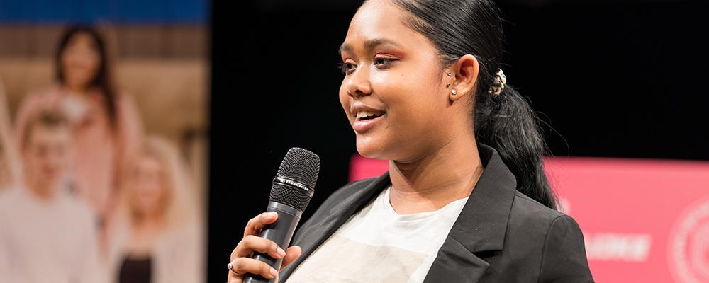 Shanayla won een Young Impact Award en helpt nu jongeren met gedragsproblemen