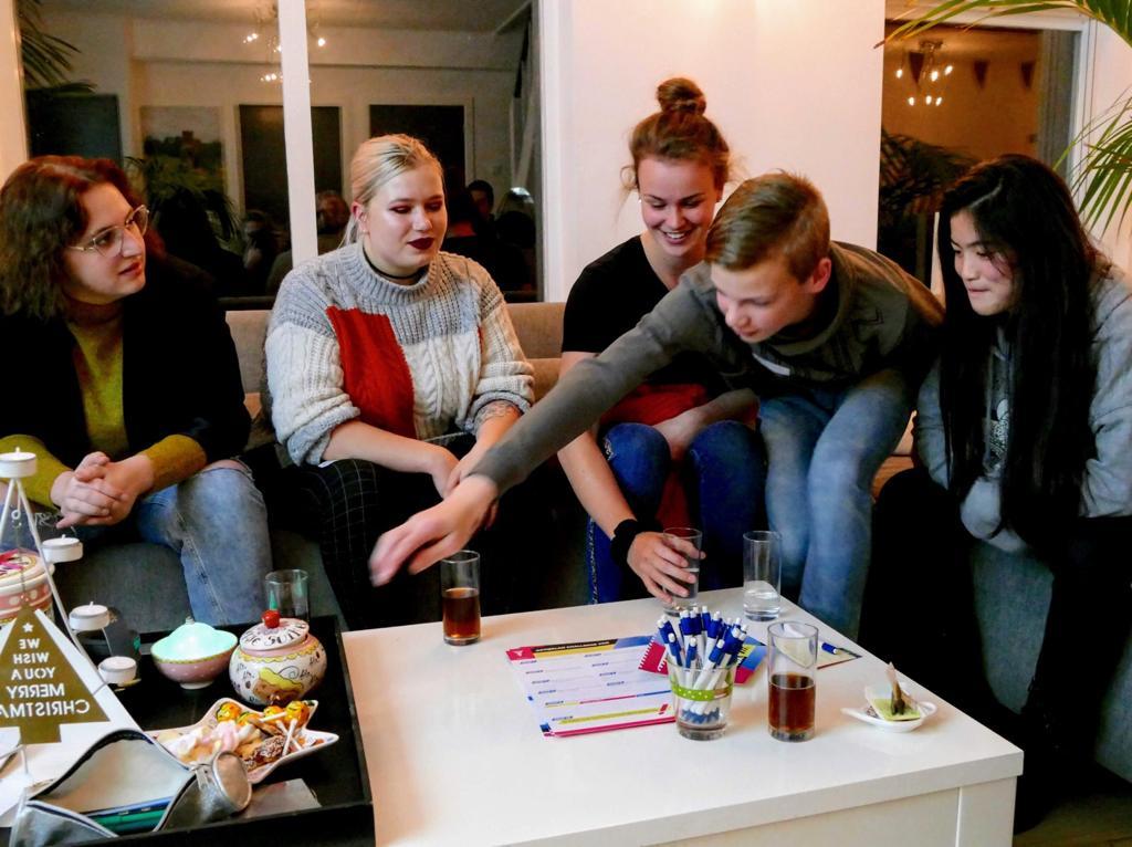 Jongeren creëren creatieve broedplaats 'Villa Artquake'