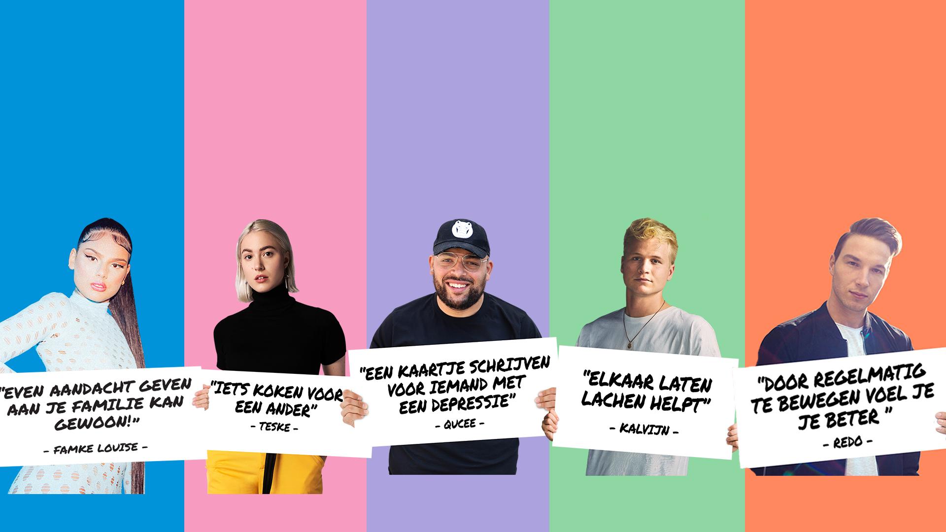 Young Impact Helpt: Influencers komen in actie!