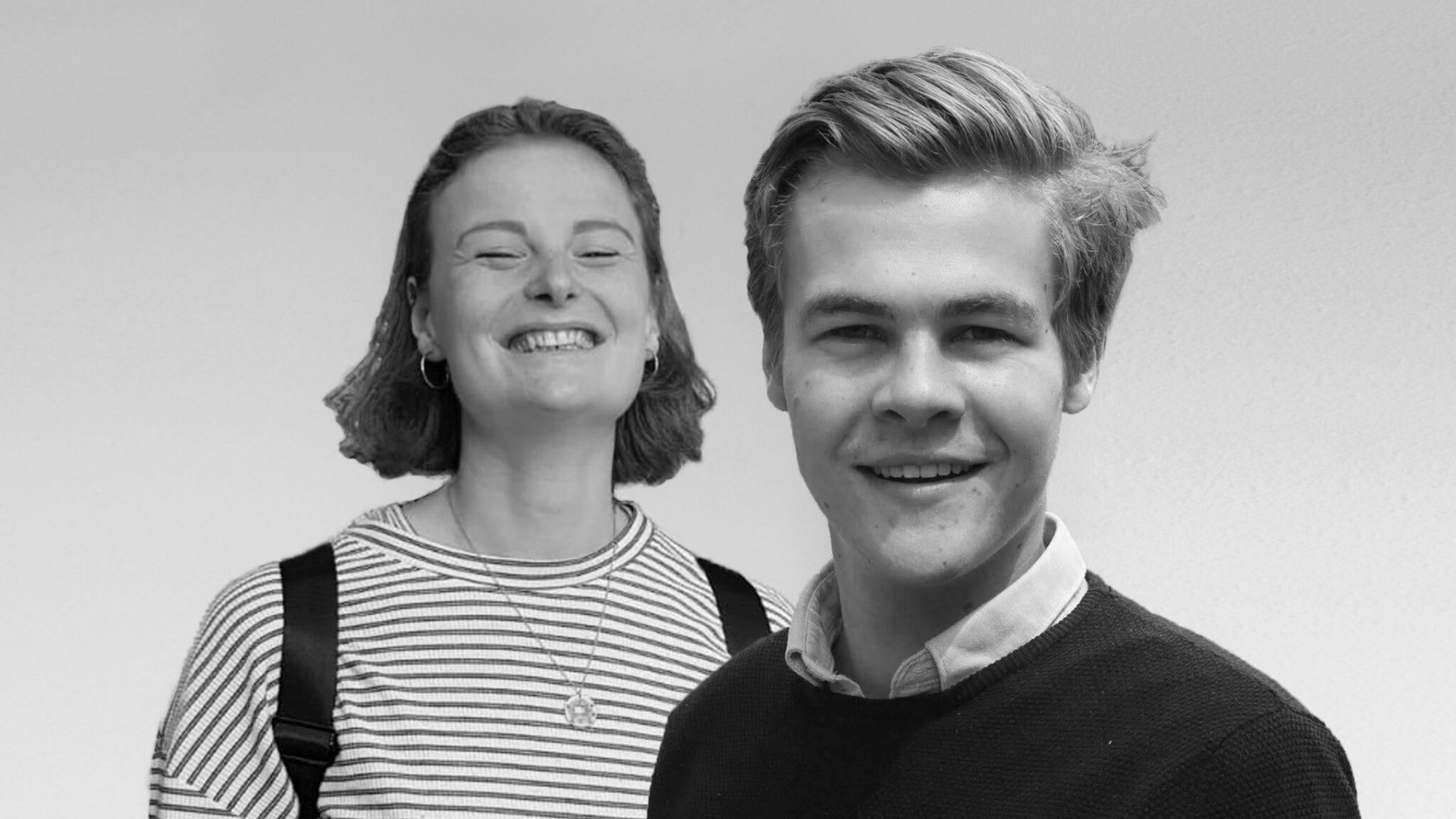 Sander (21) en Iris (22) maken onderwijs bereikbaarder tijdens de coronacrisis