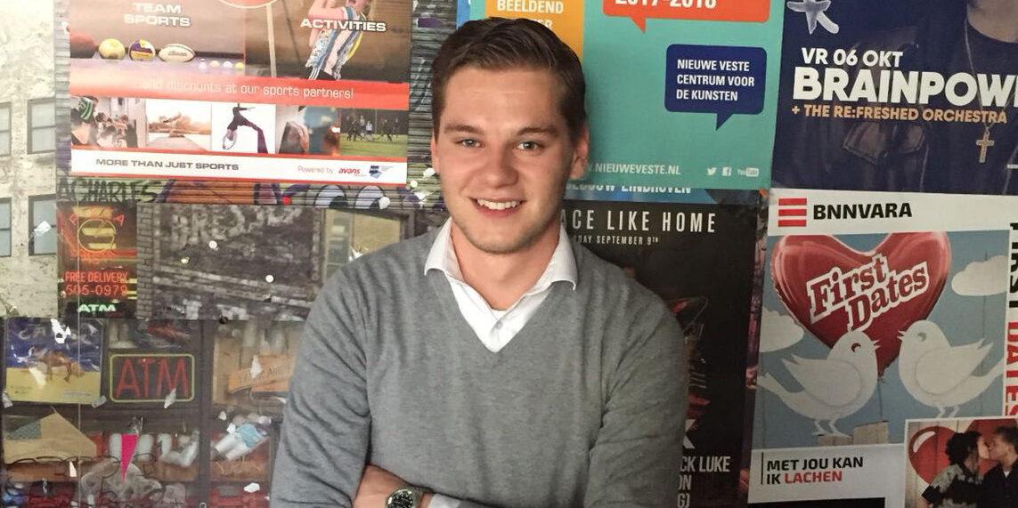 Sam (25) start hulpactie voor getroffen Limburgers